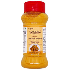 Tassyam Turmeric Powder 100g | Dispenser Bottle, Spice, Gusto Spicerie - Best Indian Teas