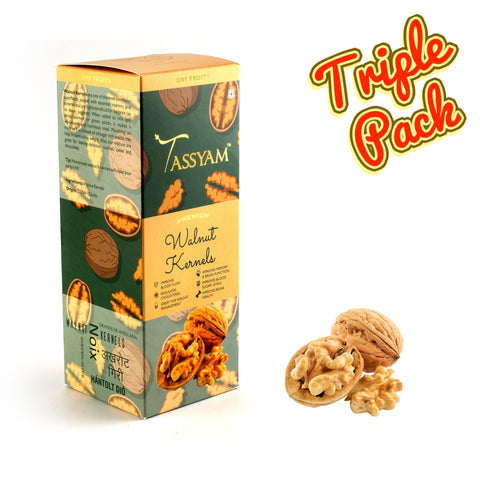 American Walnut Kernels - 600g (3x 200g) Boxes | Limited Period Pack