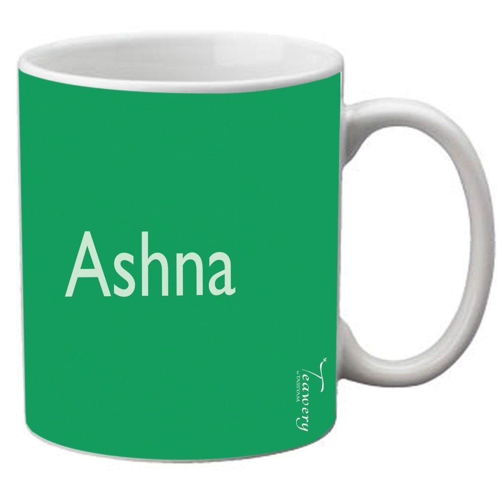 Teawery Ashna Ceramic Mug 330ml by Tassyam, Ceramic Mugs, Tassyam - Best Indian Teas