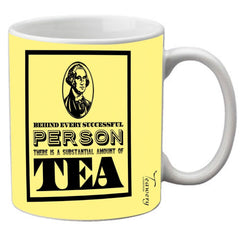 Teawery Behind Every Successful Person Ceramic Mug 330ml by Tassyam, Ceramic Mugs, Tassyam - Best Indian Teas