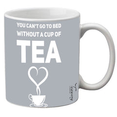 Teawery Can't Go To Bed Ceramic Mug 330ml by Tassyam, Ceramic Mugs, Tassyam - Best Indian Teas