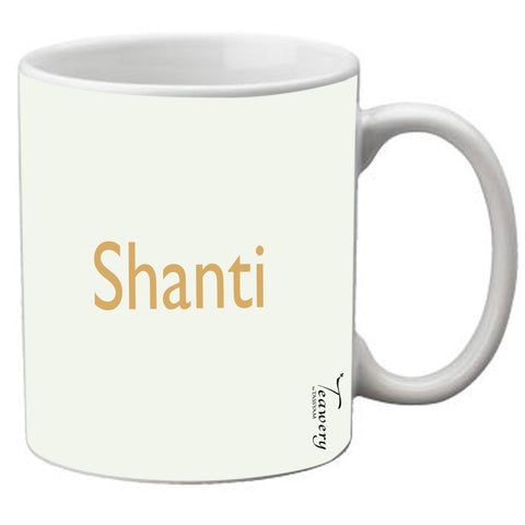 Teawery Shanti Ceramic Mug 330ml by Tassyam, Ceramic Mugs, Tassyam - Best Indian Teas