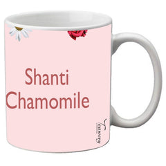 Teawery Shanti Chamomile Ceramic Mug 330ml by Tassyam, Ceramic Mugs, Tassyam - Best Indian Teas