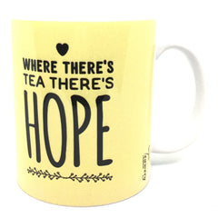 Teawery Tea & Hope Ceramic Mug 330ml, Ceramic Mugs, Tassyam - Best Indian Teas