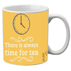 Teawery Time For Tea Ceramic Mug 330ml by Tassyam, Ceramic Mugs, Tassyam - Best Indian Teas