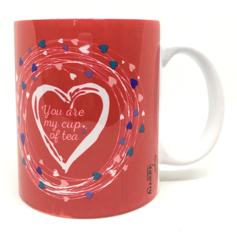 Teawery You Are My Cup Of Tea Ceramic Mug 330ml, Ceramic Mugs, Tassyam - Best Indian Teas