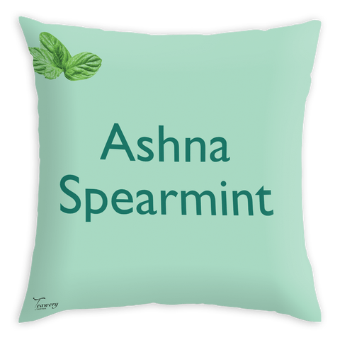 Tassyam Cushion Cover Teawery Ashna Satin Cushion Cover 16x16 by Tassyam