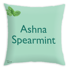 Teawery Ashna Satin Cushion Cover 16x16 by Tassyam, Cushion Cover, Tassyam - Best Indian Teas