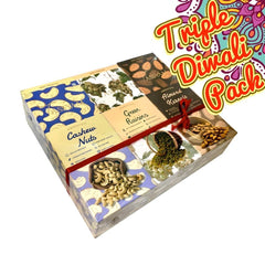 Diwali Essentials Gift Pack, Dry Fruit, Tassyam - Best Indian Teas