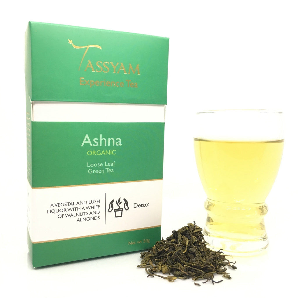 Tassyam Tea 50g Premium Box Ashna - Organic Green Tea