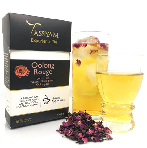Tassyam Tea 50g Premium Box Oolong Rouge - Oolong Tea Blend