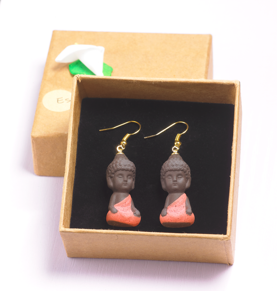 Buddha Buddy Earrings