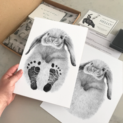 XL Swaddle Muslin - Rainbow Sunshine - Mabel & Fox