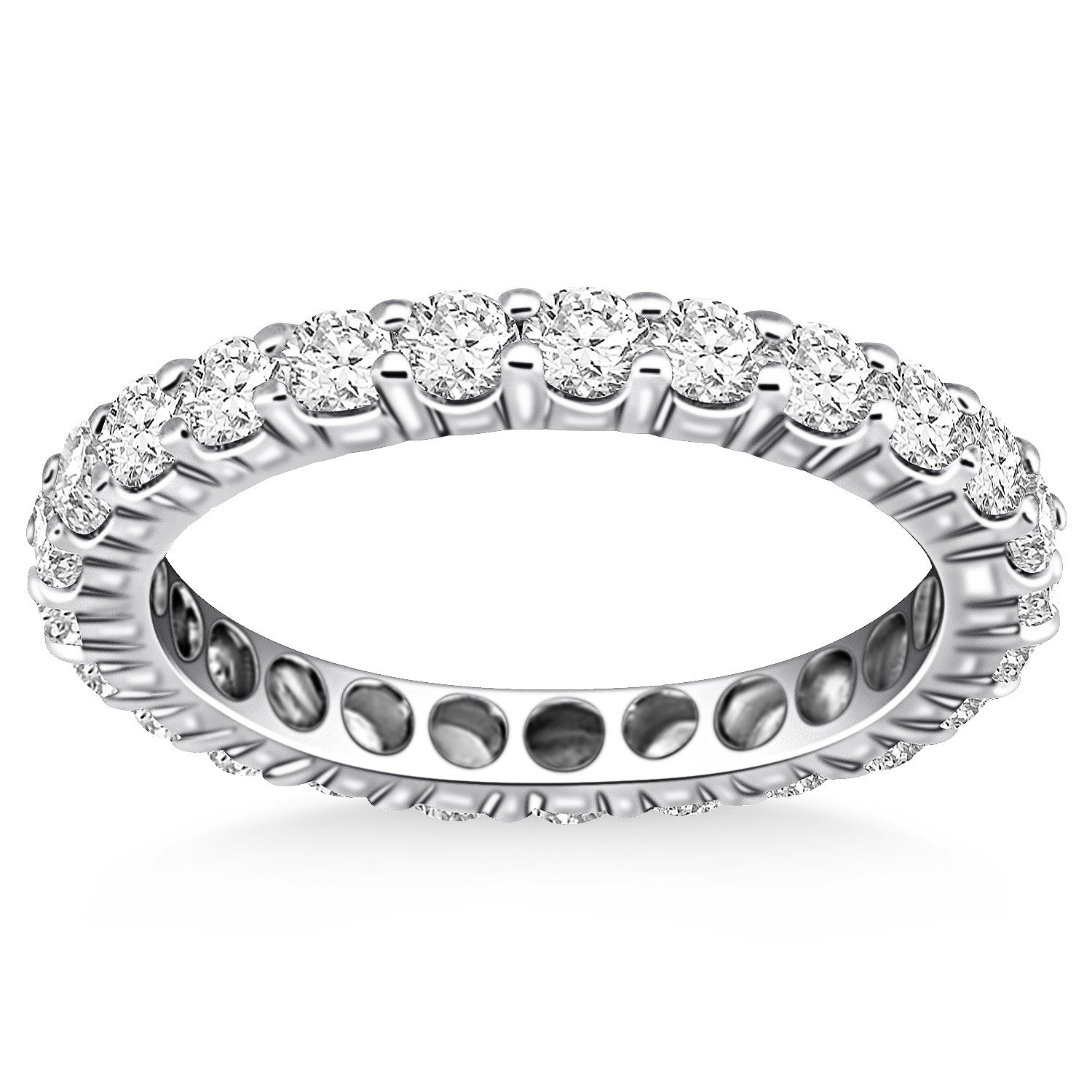 eternity half ring eboutique jewellery goldheart diamond rings