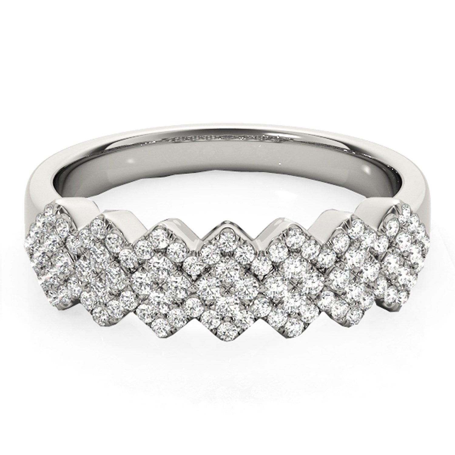 multi two wedding diamond multiple post bands topic page or more