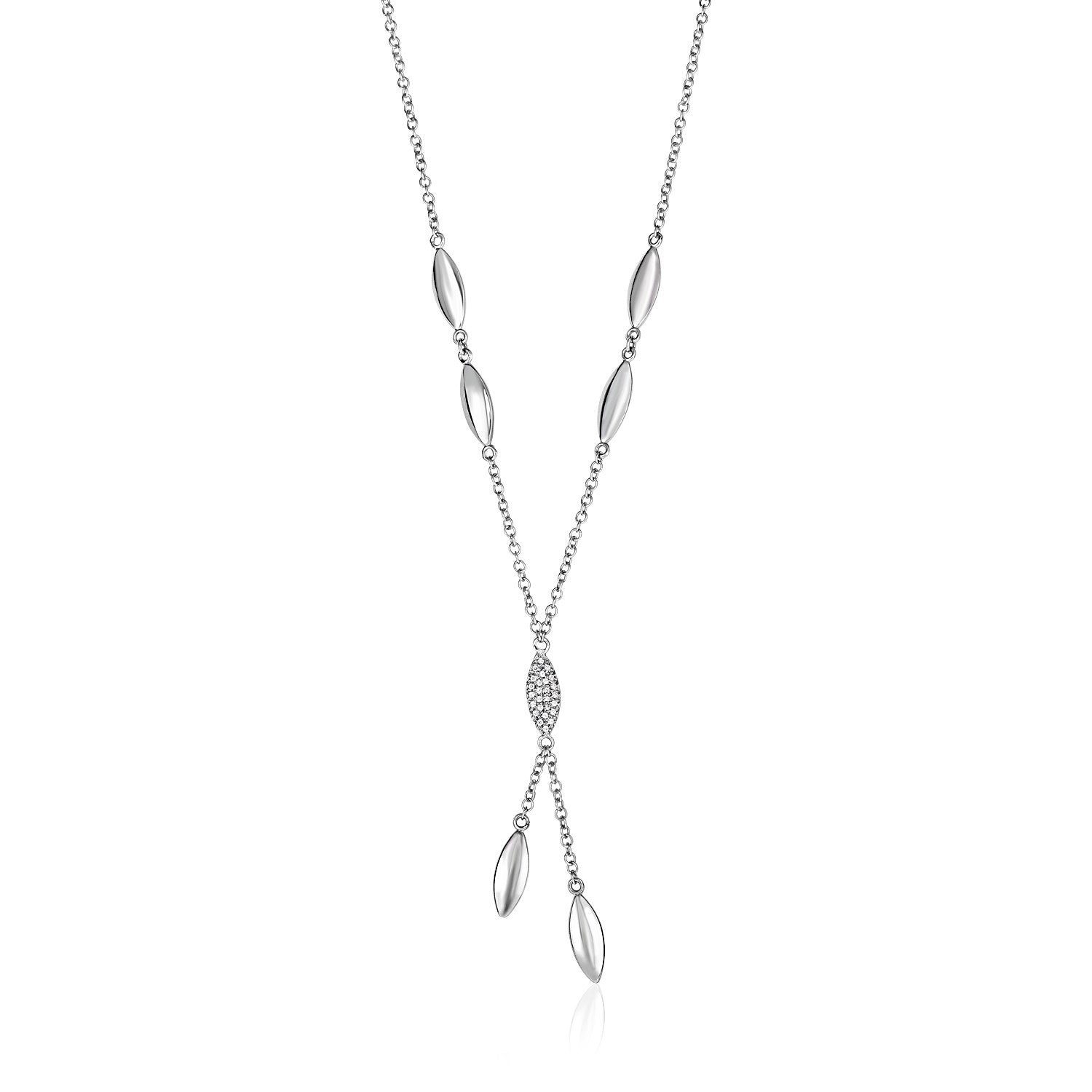 diamond marquise collections angeles necklace products los jewelry white gold curated