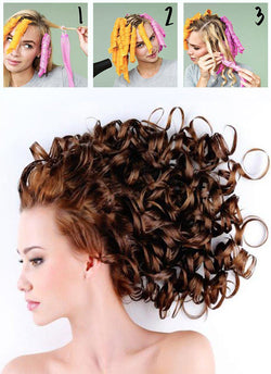 Magic Spiral Hair Curlers - Posh Fashion Girls