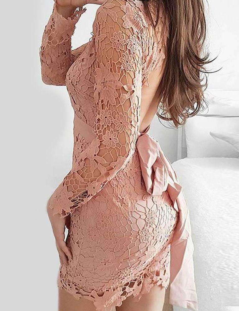 Mi Amore Party dress-Pink