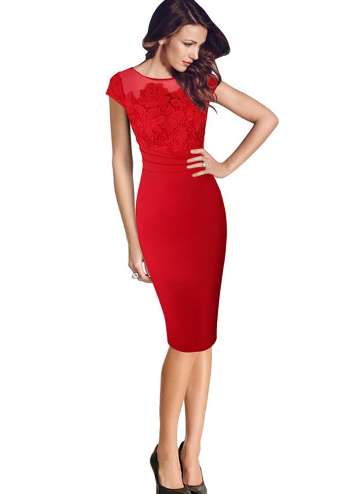 J'adore Party Dress-Red - Posh Fashion Girls