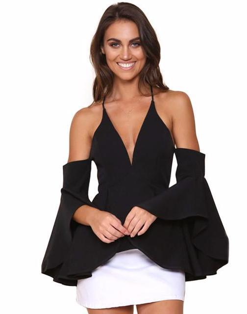 Your Dreams Girls Blouse-Black