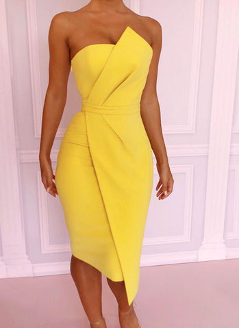 Nika Stylish Bodycon Dress - Posh Fashion Girls