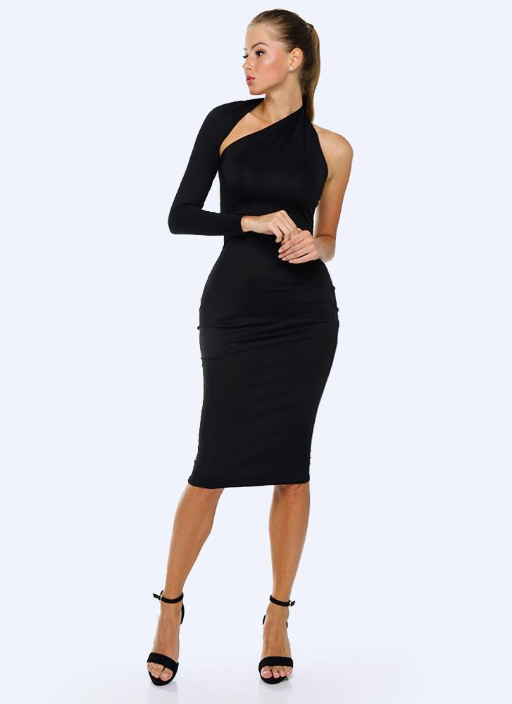 Dasha Modern Dress- Black
