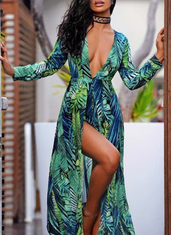 Maya Garden Maxi Romper - Posh Fashion Girls