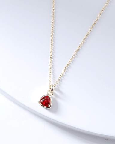 Swarovski Birthstone Necklace - January