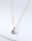 Swarovski Birthstone Necklace - March - Nakamol