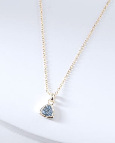 Swarovski Birthstone Necklace - March