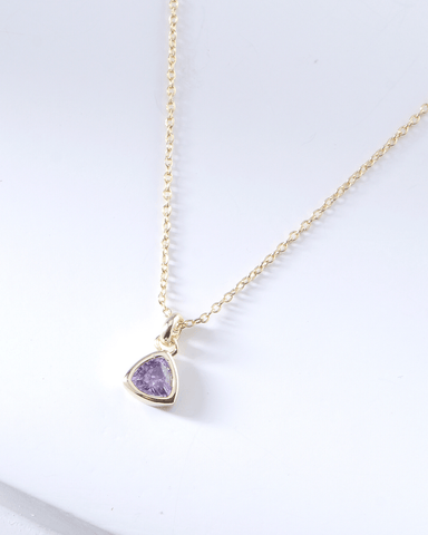 Swarovski Birthstone Necklace - June