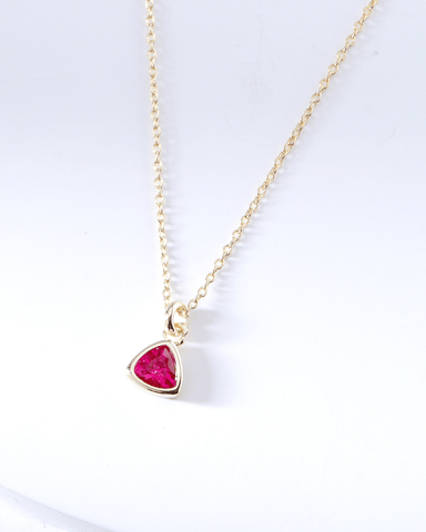 Swarovski Birthstone Necklace - July