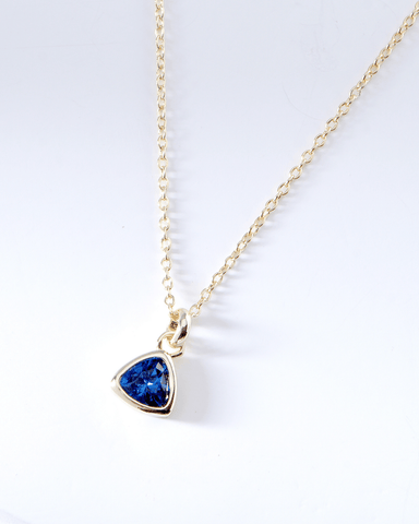 Swarovski Birthstone Necklace - September, , Nakamol, Nakamol - Nakamol Chicago Handcrafted Jewelry