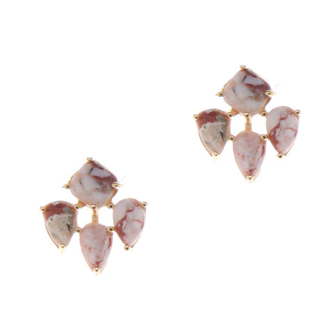 Lana Stud Earrings - Nakamol
