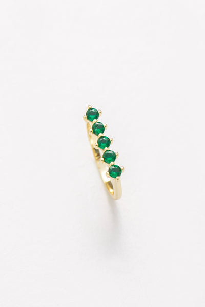 Raz Birthstone Ring - May - Nakamol