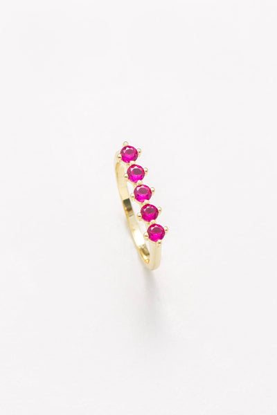 Raz Birthstone Ring - July - Nakamol