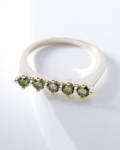 Raz Birthstone Ring - August, Rings, Nakamol, Nakamol - Nakamol Chicago Handcrafted Jewelry