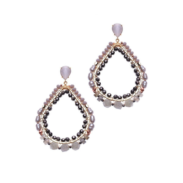Ariana Earrings - Nakamol