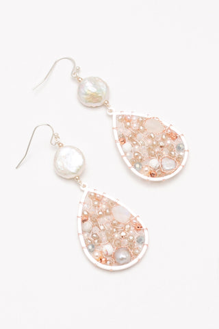 Karly Teardrop Dangle Earrings - Nakamol