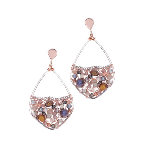 Pauline Earrings - Nakamol