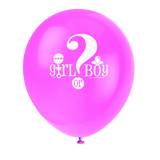 Latex Gender Reveal Balloons