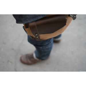 HELSTONS thigh bag in Beige | VINTAGE LOOK