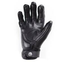 SPEED PRO AIR summer Soft black leather glove