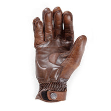 Helstons SPEED PRO summer Pull Up brown leather glove