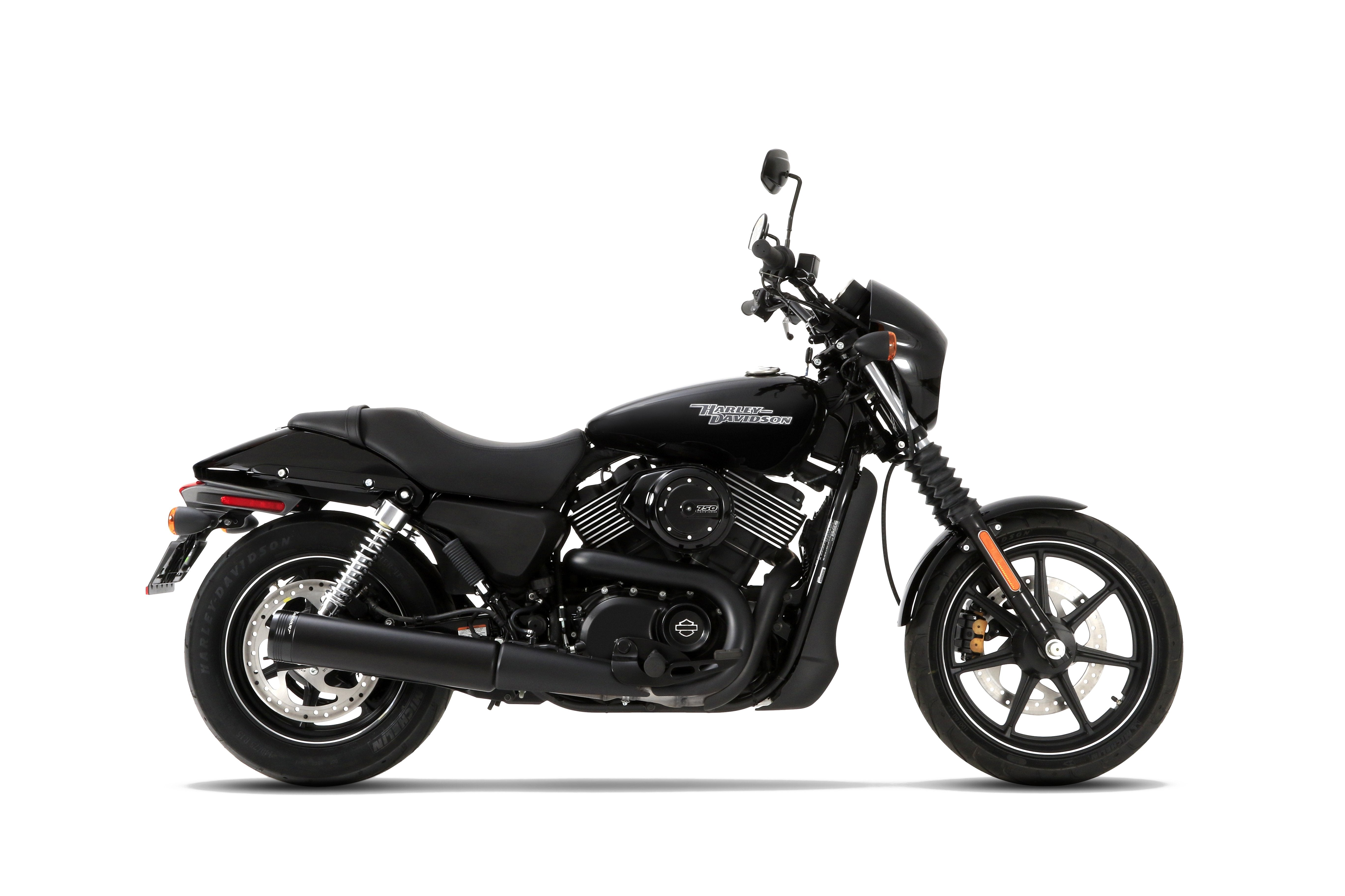 Harley Davidson Street 750 / Street Rod Black Slip-on