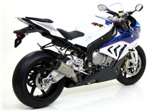 Arrow BMW S1000RR Works titanium silencer with carbON end cap