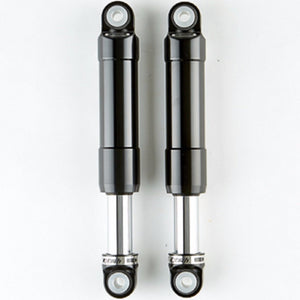 Harley Davidson - Rear Shock Absorbers - Bullit (Chrome)