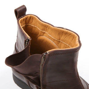 Helstons Trail Brown Calfskin motorcycle leather shoes