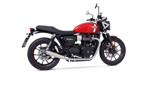 Triumph Street Twin - Remus header (2-2) De-Cat