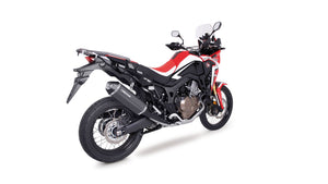 Honda CRF Africa Twin - Remus Carbon Okami Slip-on + stainless steel header (2-1)